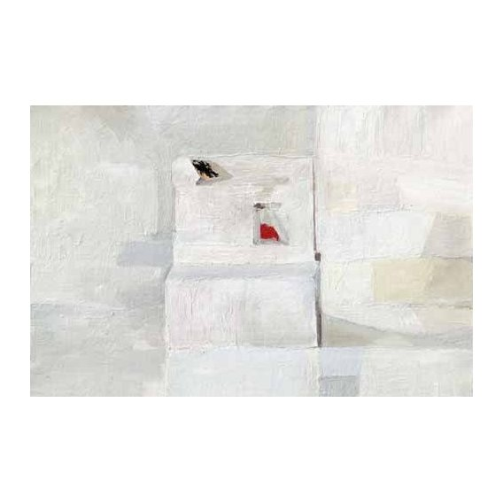 pinturas abstratas - Quadro -Abstracto Greys (III)-
