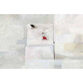 Quadros para sala de jantar - Quadro -Abstracto Greys (III)- - Vicente, E. Ricardo