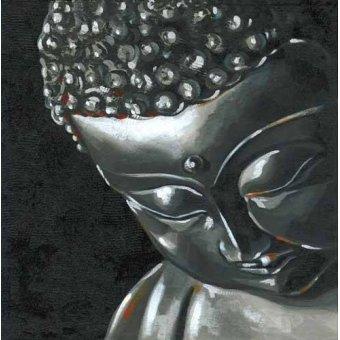 cuadros de retrato - Cuadro -Buda (I)- - Vicente, E. Ricardo