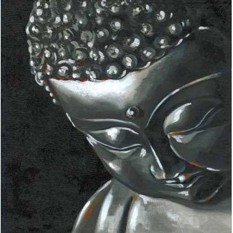pinturas de retratos - Quadro -Buda (I)- - Vicente, E. Ricardo