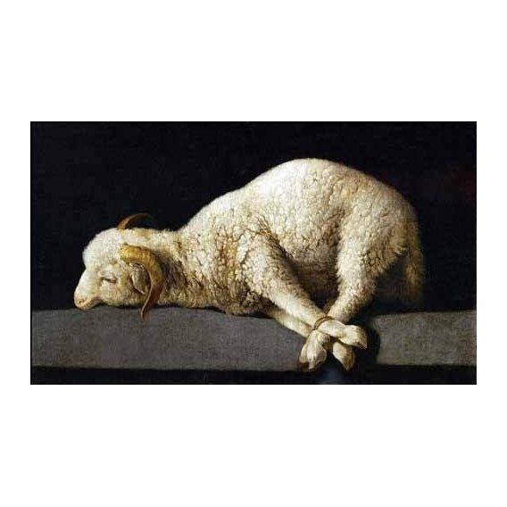 naturezas mortas - Quadro -Agnus Dei, 1635-40-