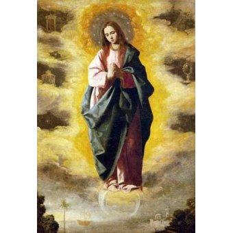 - Quadro -La Inmaculada Concepcion- - Zurbaran, Francisco de