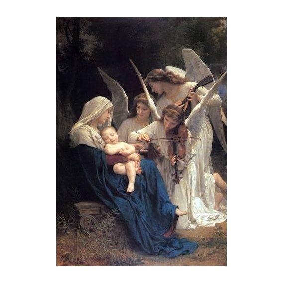 imagens religiosas - Quadro -Song of the Angels-
