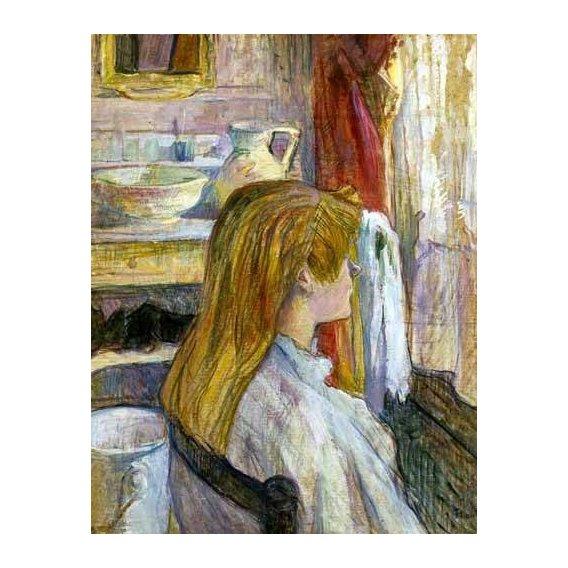 quadros decorativos - Quadro -Mujer en la ventana-