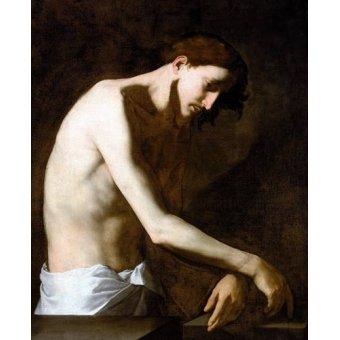 quadros religiosos - Quadro -La Flagelacion De Jesucristo- - Ribera, Jose de