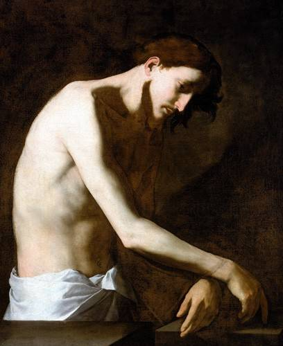 quadros-religiosos - Quadro -La Flagelacion De Jesucristo- - Ribera, Jose de