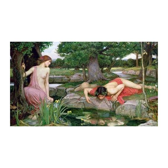decorative paintings - Picture -Eco y Narciso, 1903-