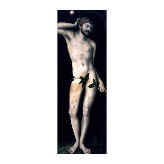 imagens religiosas - Quadro -Adan-