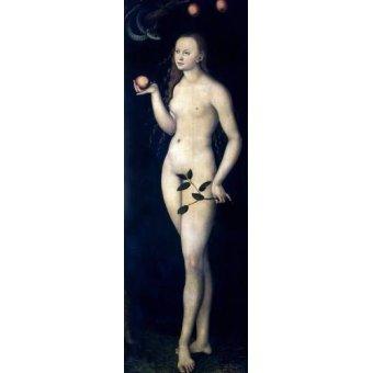 quadros religiosos - Quadro -Eva- - Cranach, Lucas
