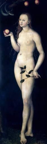 quadros-religiosos - Quadro -Eva- - Cranach, Lucas