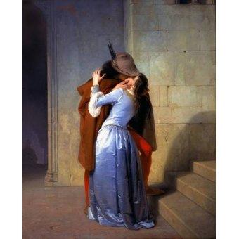 - Quadro -Il Bacio (Le baiser)- - Hayez, Francesco