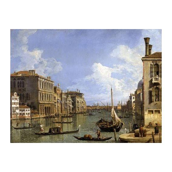 pinturas de paisagens marinhas - Quadro -Veduta del canal grande-