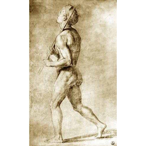 Quadro -Estudio de desnudo masculino-