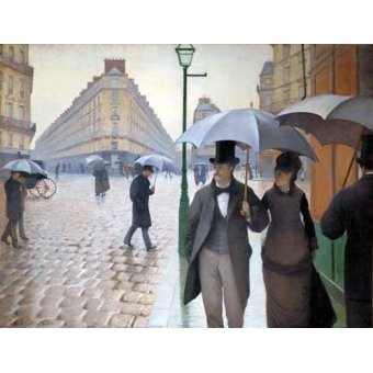 - Quadro -Rue De Paris, Temps de pluie- - Caillebotte, Gustave