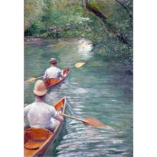 Quadro -The Canoes, 1878-