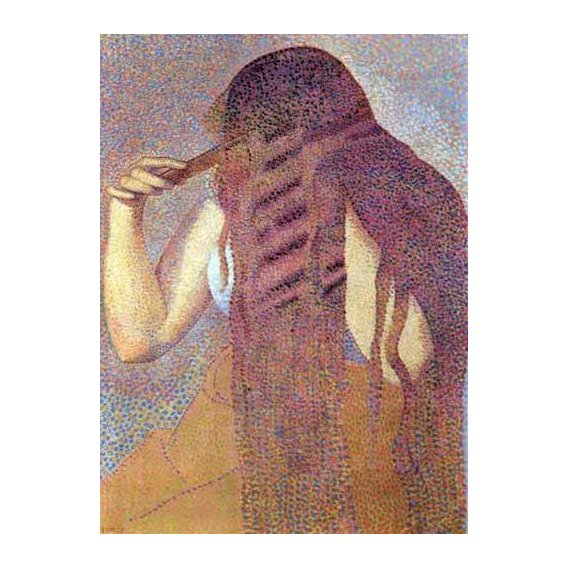 decorative paintings - Picture -La cabellera, 1892-