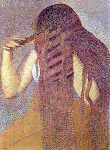 decorative paintings - Picture -La cabellera, 1892- - Cross, Henri Edmond