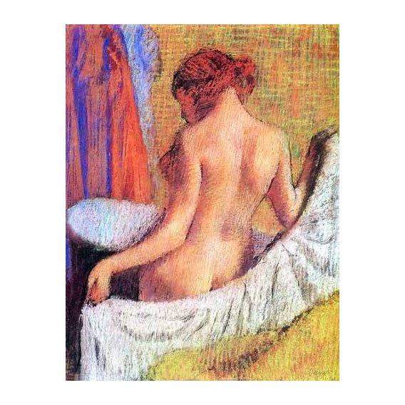 cuadros decorativos - Cuadro -Después del baño-