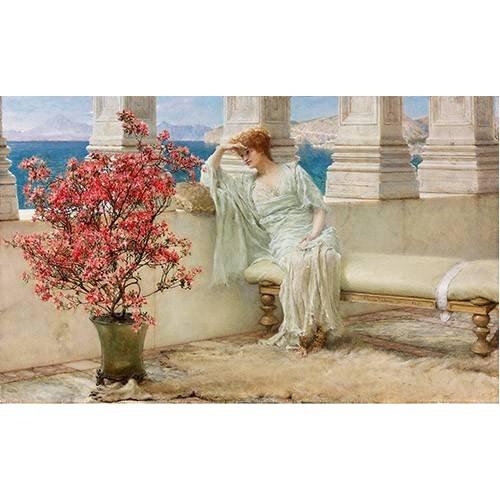 Quadro -Su mirada y sus pensamientos se encuentran en la lejania, 1897-