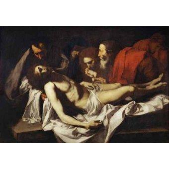 quadros religiosos - Quadro -Deposition- - Ribera, Jose de