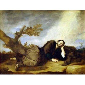 - Quadro -El Sueño De Jacob- - Ribera, Jose de