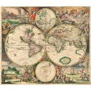 Picture -Gerard van Schagen, World Map 1689-