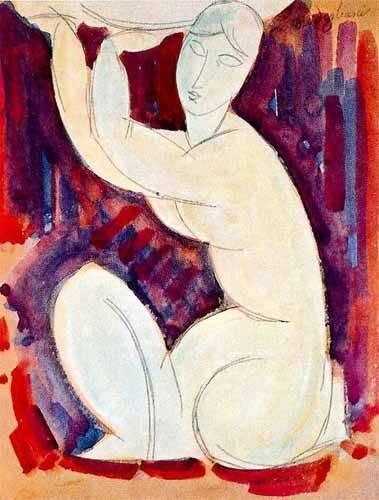 cuadros decorativos - Cuadro -Cariatide-0- - Modigliani, Amedeo