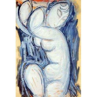 - Quadro -Cariátide-5- - Modigliani, Amedeo