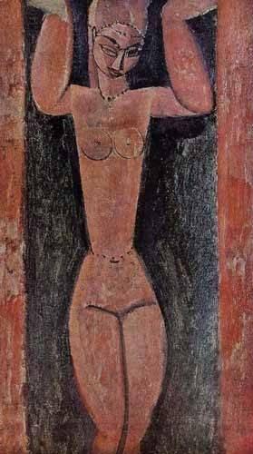 cuadros-decorativos - Quadro -Cariátide-2- - Modigliani, Amedeo