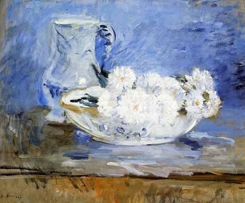 cuadros-decorativos - Quadro -Margaridas- - Morisot, Berthe
