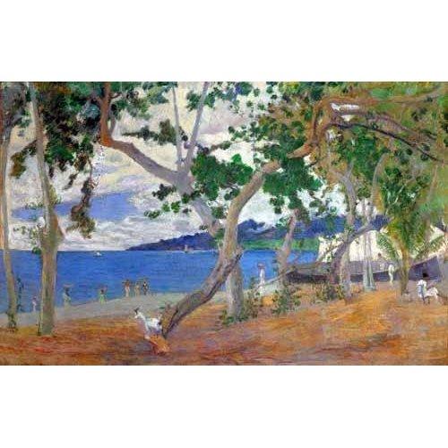 Quadro -Sea shore, 1887-