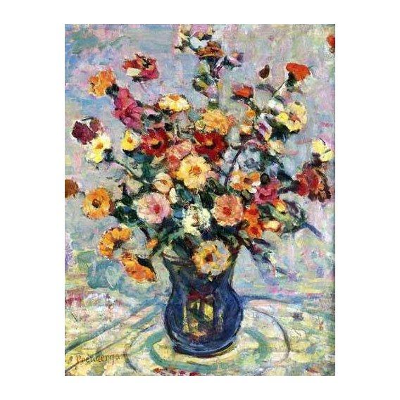 cuadros decorativos - Cuadro -Bodegón con flores-