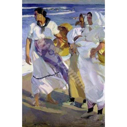 Quadro -Pescadoras valencianas, 1915-