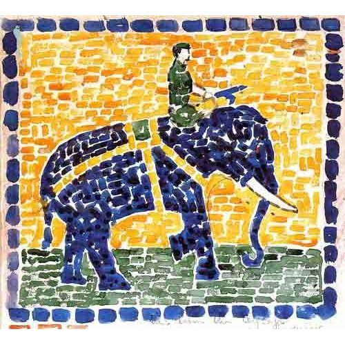 Quadro -Elefante-