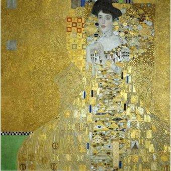 - Quadro -Retrato de Adele Bloch-Bauer I- - Klimt, Gustav