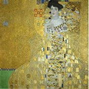 Quadro -Retrato de Adele Bloch-Bauer I-