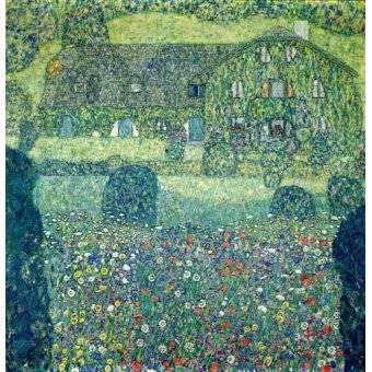 - Quadro -Landhaus am Attersee- - Klimt, Gustav