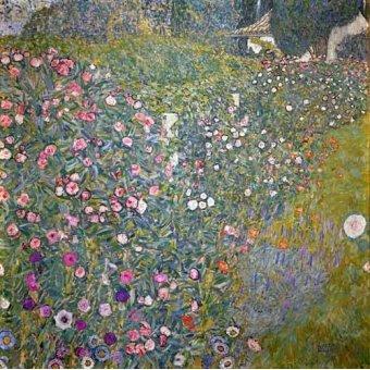 - Quadro -Jardin italiano- - Klimt, Gustav