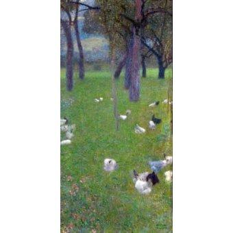 - Quadro -After the rain- - Klimt, Gustav