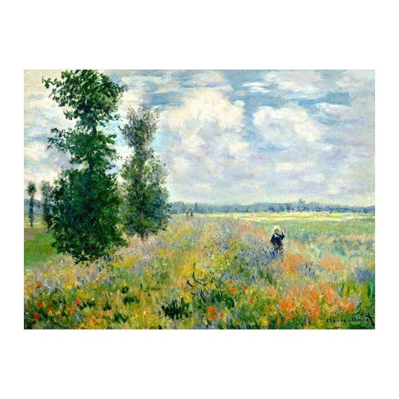 pinturas de paisagens - Quadro -The Poppy Field -