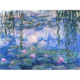 - Quadro -Waterlilies, 1916-19- - Monet, Claude