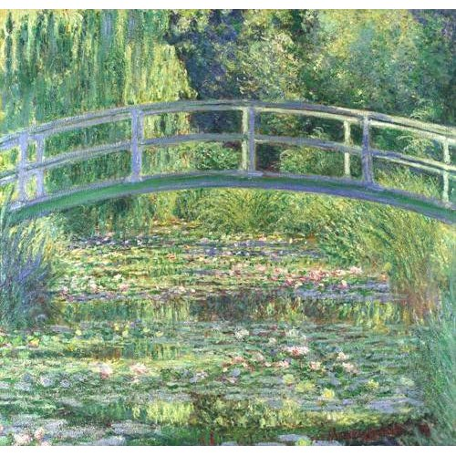 Quadro -Waterlily Pond, 1899 (oil on canvas)-