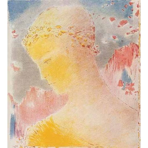 Quadro -Mujer dorada-