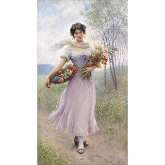 quadros de flores - Quadro -Spring Flowers- - Blaas, Eugen Von