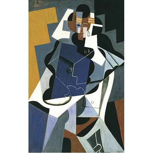 Quadro -Figure of a Woman, 1917-