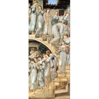 - Quadro -The Golden Stairs- - Burne-Jones, Edward