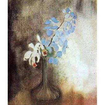 - Quadro -Orquideas- - Redon, Odilon