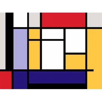 Quadros para quarto - Quadro -Abstractos MM_MONDRIAN (II)- - Vicente, E. Ricardo