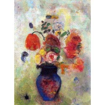 - Quadro -Bouquet de flores 2- - Redon, Odilon