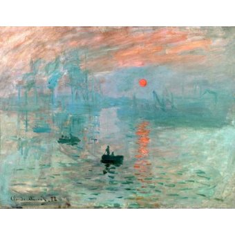 - Quadro -Impression, soleil levant- - Monet, Claude